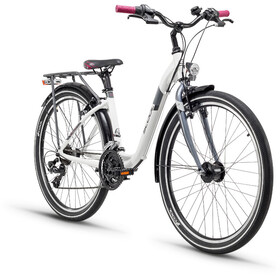 s'cool chiX 26 21-S - Vélo junior Enfant - alloy blanc
